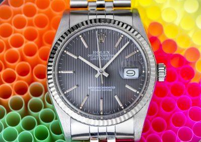ROLEX DATEJUST 'TAPESTRY DIAL'