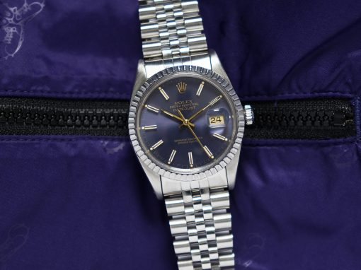 ROLEX DATEJUST 'PURPLE'