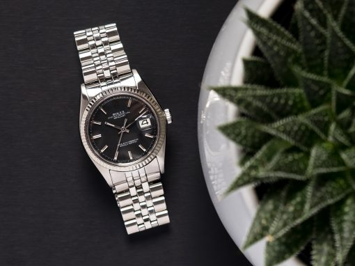 ROLEX DATEJUST 'NO LUME' DIAL