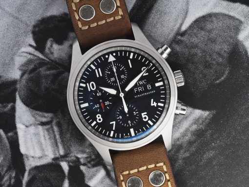 IWC PILOTS WATCH CHRONO