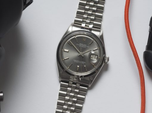 ROLEX DATEJUST 1600 GREY DIAL