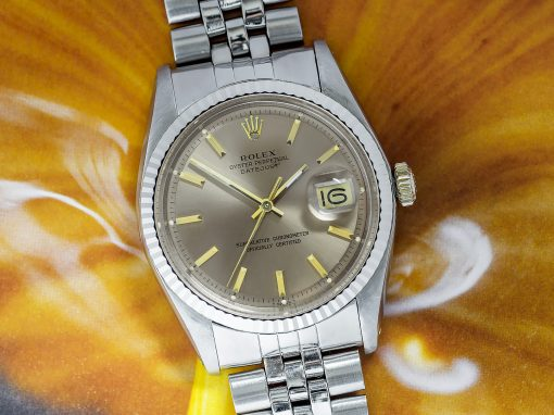 ROLEX DATEJUST 'COFFEE & CREAM'