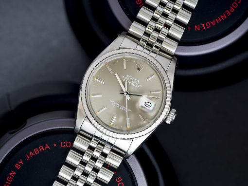 ROLEX DATEJUST – PERFECT GREY DIAL