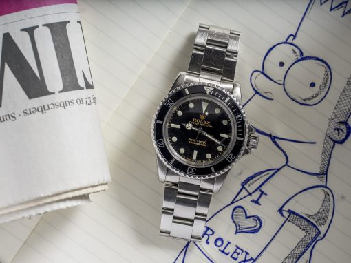 ROLEX SUBMARINER 5513 'BART SIMPSON'