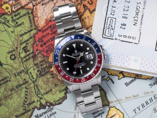 ROLEX GMT-MASTER 16710 B&P