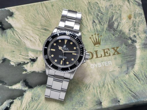 ROLEX SUBMARINER 5513 KILLER PATINA