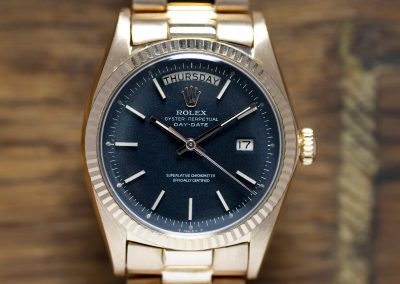 ROLEX DAY-DATE 1803 PINK GOLD
