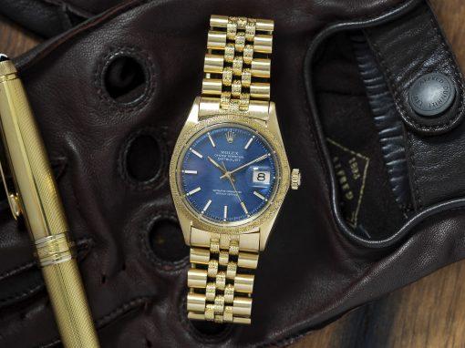 Rolex Datejust Shantung Morellis
