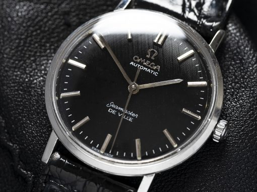 OMEGA SEAMASTER TEXTURED DIAL