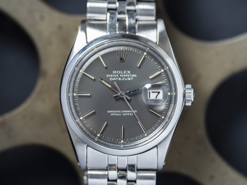ROLEX DATEJUST ANTHRACITE