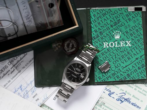 ROLEX DATEJUST B&P