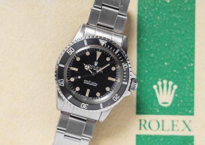 ROLEX SUBMARINER 5513 B&P
