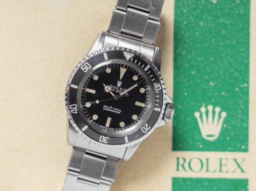 ROLEX SUBMARINER 5513 B&P