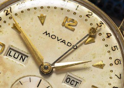 MOVADO TRIPLE DATE CALENDAR