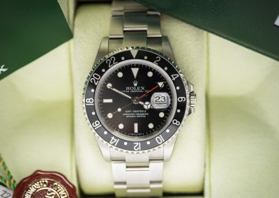 ROLEX GMT-MASTER II 16710 IN THE STICKERS!