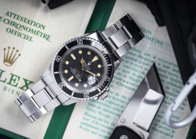 ROLEX 'RED' SUBMARINER 1680 W. PAPERS