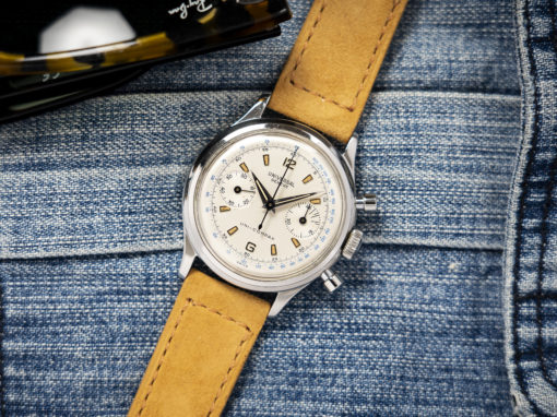 UNIVERSAL GENEVE UNI-COMPAX TACHYMETER