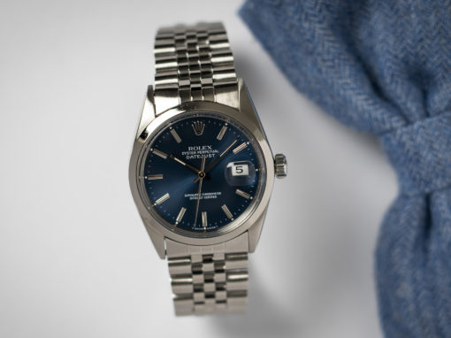 ROLEX DATEJUST 16000 'ELECTRIC BLUE'