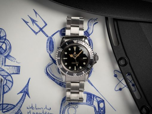 GILT DIAL SUBMARINER 5513