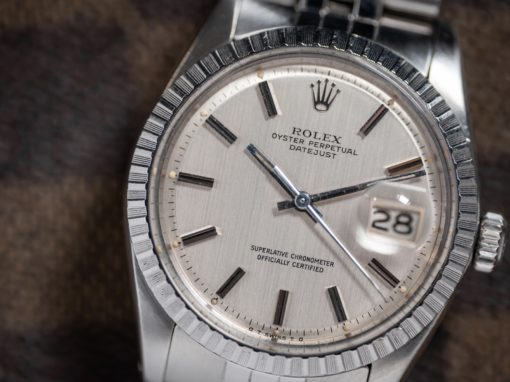 ROLEX DATEJUST 'VERTICAL BRUSHED'