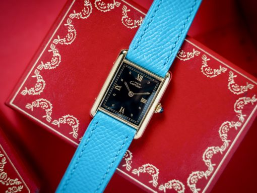CARTIER TANK MUST VERMEIL