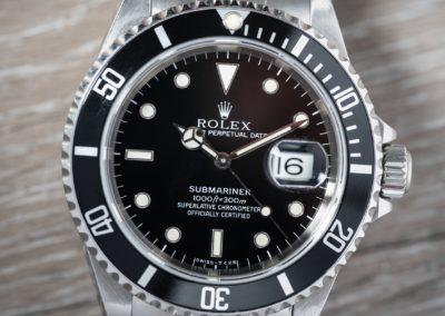 16610 ROLEX SUBMARINER B&P