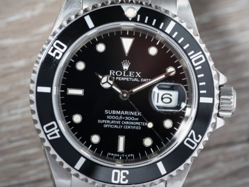 16610 ROLEX SUBMARINER B&P