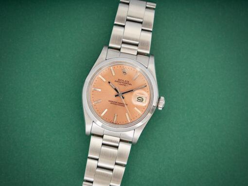 Rolex Date Salmon dial