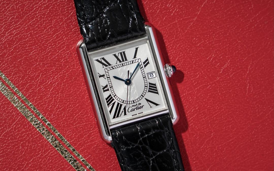 "Must de Cartier Tank ""Amsterdam Boutique Edition"" Reloaded"