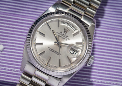 1803 Day-Date 18k White Gold